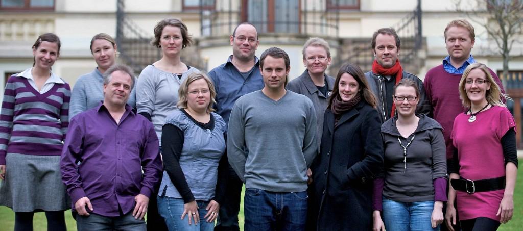 Gruppenfoto mit Gast, Foto: LSoM 2011