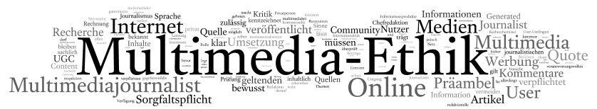 anerkannte Marken schön billig beste website Multimedia-Ethik